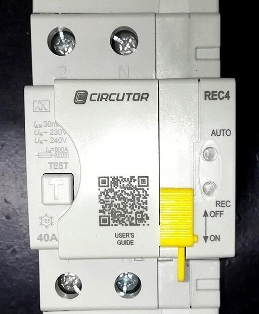 interruptor diferencial eléctrico